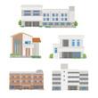 施設と住宅