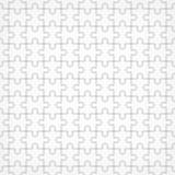 Jigsaw seamless puzzle blank template.