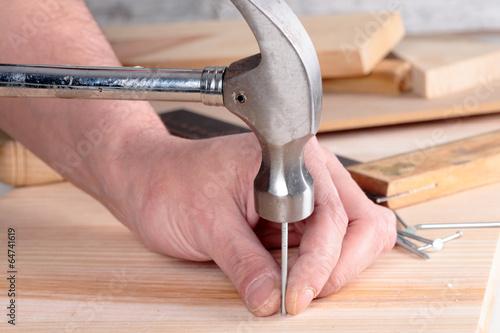 hammer and nail - 64741619