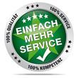 Einfach mehr Service – 100% Beratung, Qualität, Service, Komp