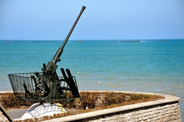 Arromanches artillerie 1944