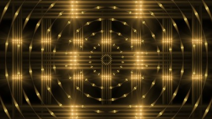 background loop, gold abstract motion