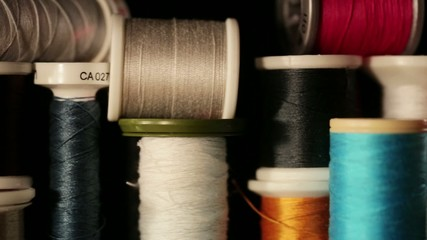 thread in different colors