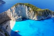 Obrazy na płótnie, fototapety, zdjęcia, fotoobrazy drukowane : Navagio Beach in Zakynthos, Greece