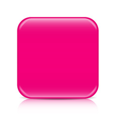 Pink blank icon template with copy space