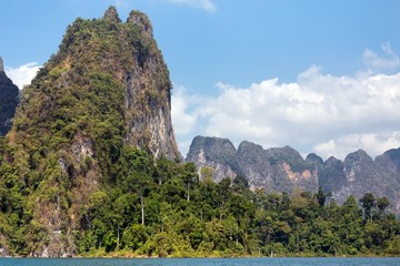 Tropical sea landscape
