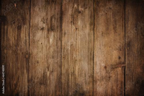 Fototapeta wood texture plank grain background, wooden desk table or floor