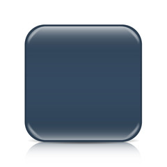 Midnight blue blank icon template with copy space
