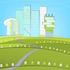 Eco Roads landscape