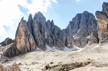 Vallone del Sassolungo, Val Gardena HDR