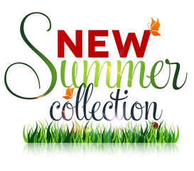 New summer collection, marketing campaign