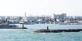 Bocana del puerto de La Goulette, Túnez