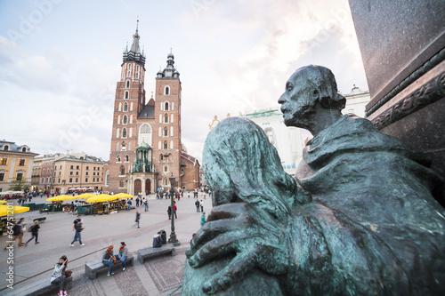 Fototapety, obrazy : Krakow market square, Poland, Europe