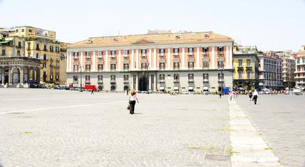 Biblioteca de la Corte Dei Conti, Nápoles, Italia