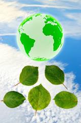 Umweltschutz - 3d Render