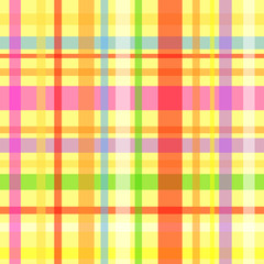 Seamless plaid pattern-yellow