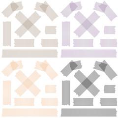 Sammlung Klebestreifen / Klebeband