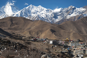 Mountain range in Muktinath