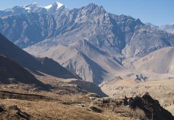 Small village of Jharkot