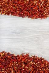 Cornice di peperoncini