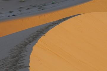 Licht und Schatten in der Wüste (Sossusvlei)