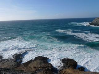 coast at argentiera