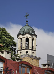 Church of St. Nicholas in Veliko Tarnovo. Bulgaria