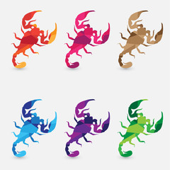 horoscope scorpio illustrations