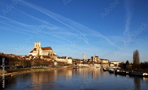 Papiers peints Ville sur l eau Auxerre et l'Yonne