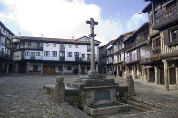 Plaza Mayor de La Alberca, Salamanca