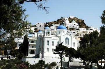 Town of Chora, Ios island, Cyclades, Greece
