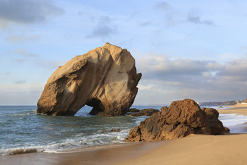 Penedo na Praia de Santa Cruz