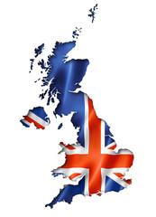 British flag map