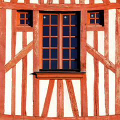 Colombages à Orléans
