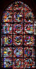 Vitrail à Auxerre
