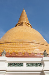 Phra Prathom Chedi, the greatest pagoda, Thailand.