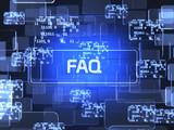 FAQ screen concept