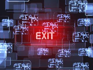 Exit screen concept