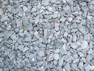 High angle view of pebbles