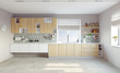 modern kitchen - 64761640