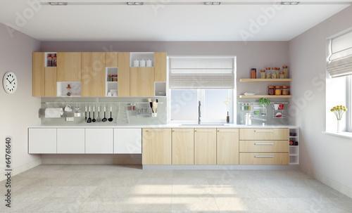 modern kitchen - 64761640