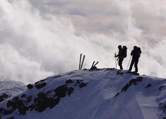 Pyrénées, Puig de Coma d'Or (2826m) - ski de randonnée