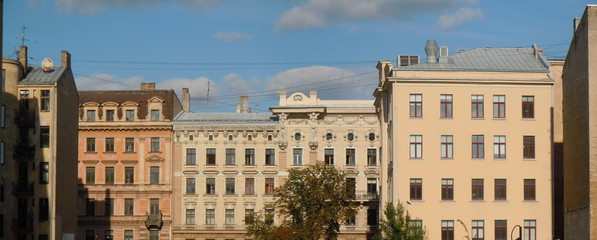 Multistage dwelling houses (Riga, Latvia)