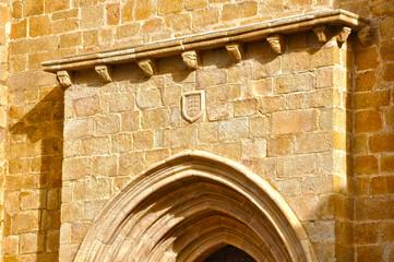 Concatedral de Cáceres, Extremadura, España, portada