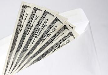 dollars in an envelope 3