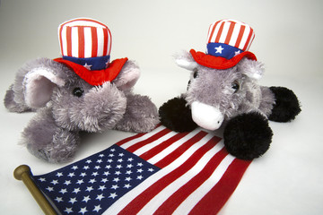 Republican and Democrat