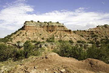 Rock Formation at Palo Duro Canyon