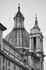 Italy, Rome, Navona Square, Sant'Agnese in Agone Church