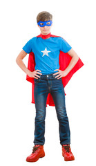 a boy super hero