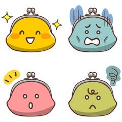 財布のキャラクター色違い